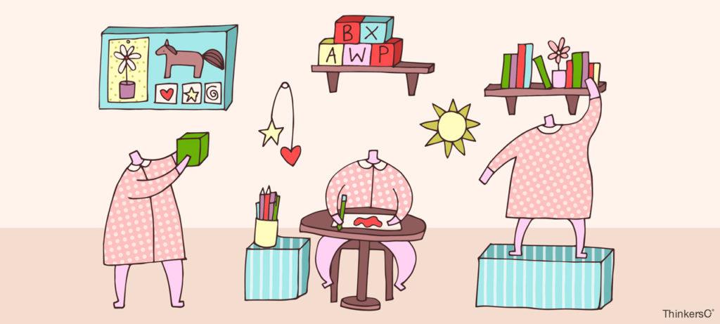 Blog Thinkers Co - Cómo crear espacios educativos para estimular la creatividad