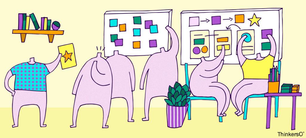 Thinkers Co Blog - Cómo potenciar una sesión de creatividad con tu equipo