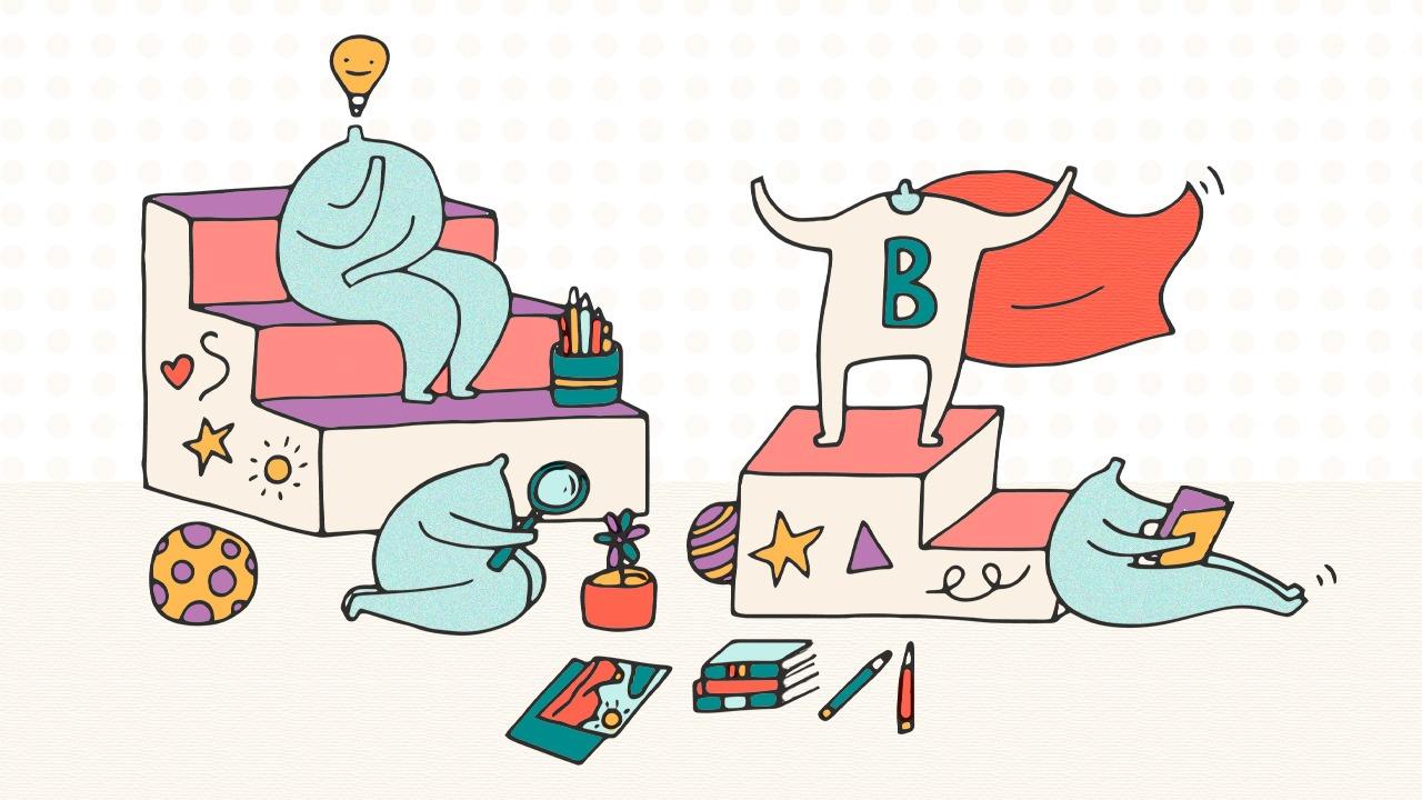 Design of educational slots. Boosting creativity