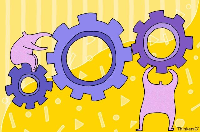 Blog Gestión de áreas en la empresa, alineamiento de los departamentos, sesiones de cocreación.