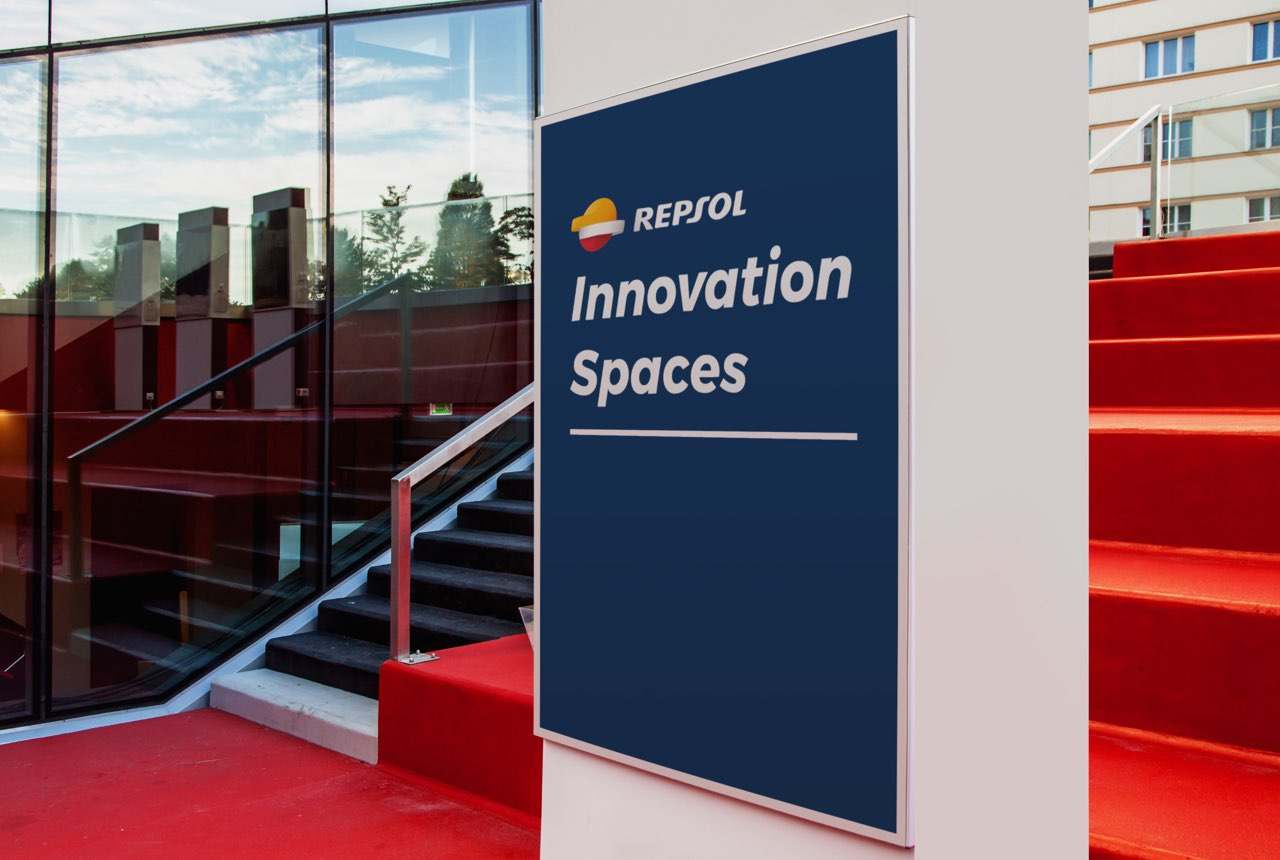 Spaces to connect people for Repsol. Ideation and design of collaborative innovation spaces.